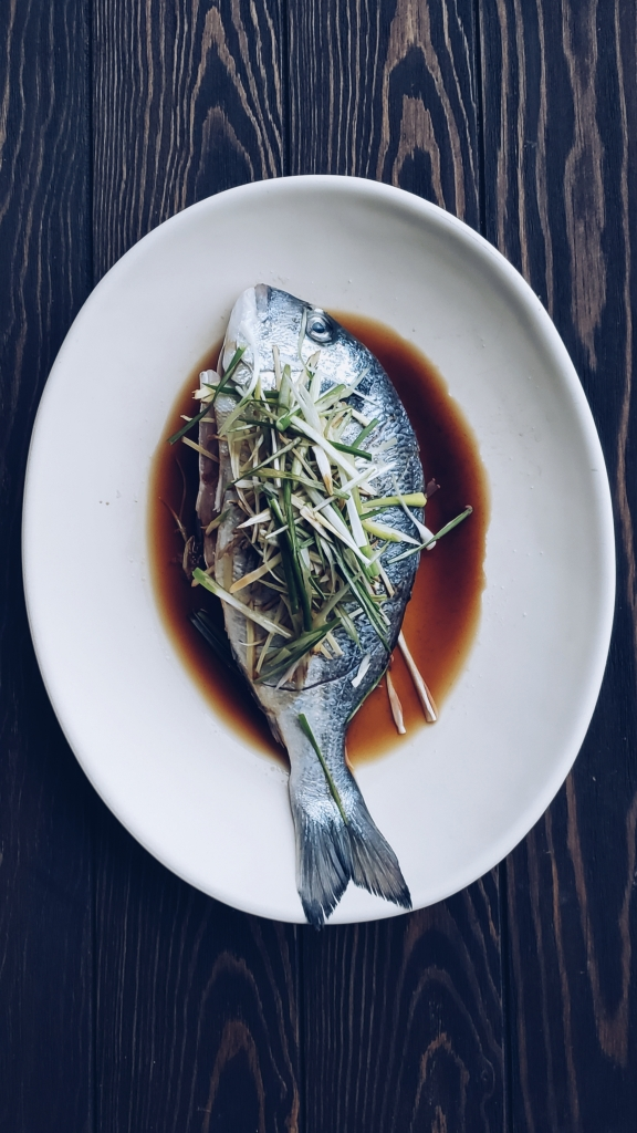 Steamed Whole Sea Bream
